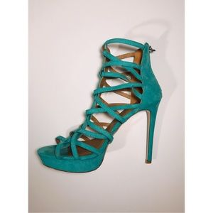 💙Just Fab Turquoise Sandals 💙